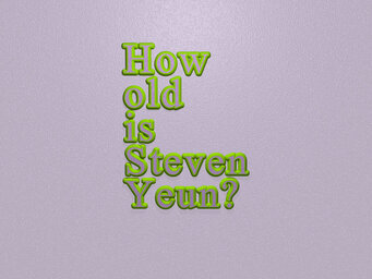 How old is Steven Yeun?