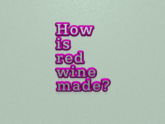 How is red wine made?