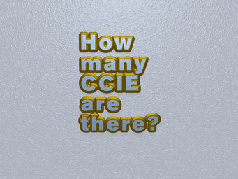 How many CCIE are there?