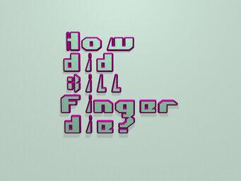 How did Bill Finger die?