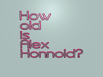 How old is Alex Honnold?