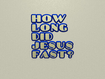 How many days did Jesus stay after the resurrection?