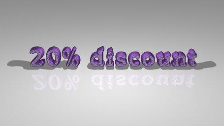 20% discount
