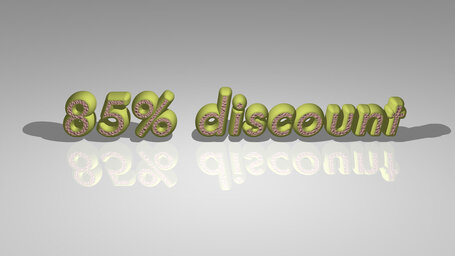 85% discount