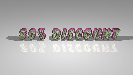 80% discount