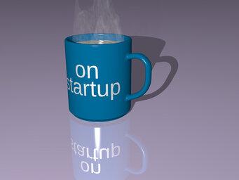 on startup