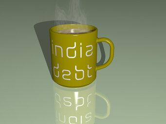 india debt