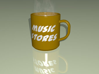 music stores