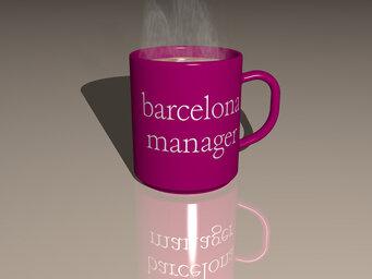 barcelona manager