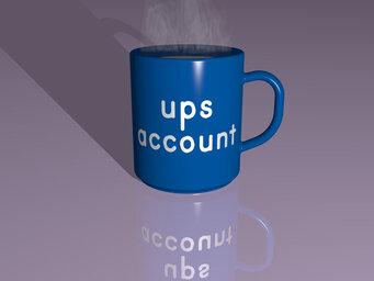 ups account