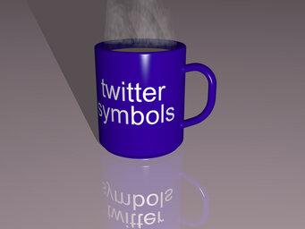 twitter symbols