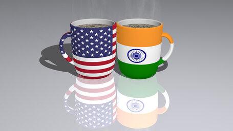 united states of america india