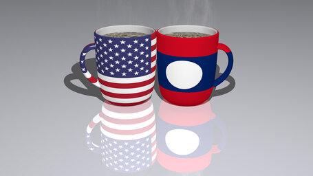 united states of america laos
