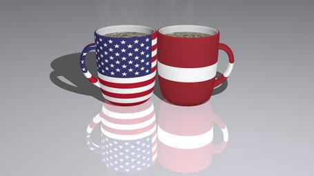 united states of america latvia