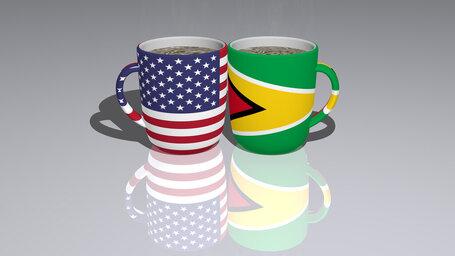 united states of america guyana