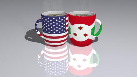 united states of america burundi