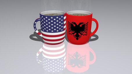 united states of america albania