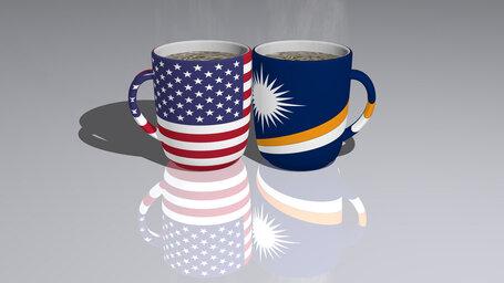 united states of america marshall islands