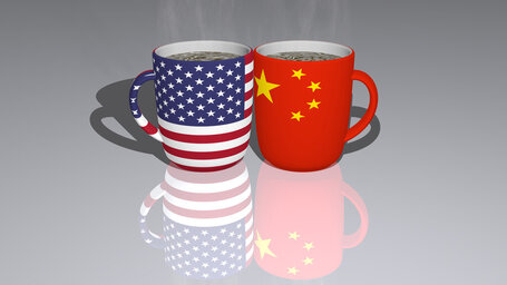united states of america china