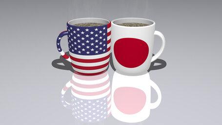 Did America drop leaflets in Japan?