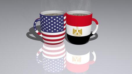 united states of america egypt