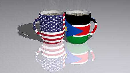 united states of america south sudan