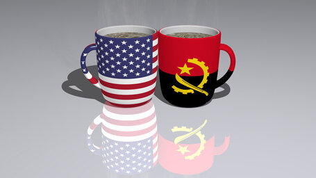 united states of america angola