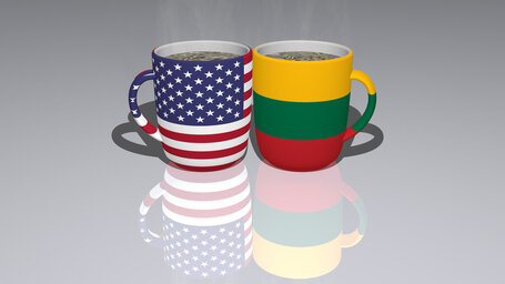 united states of america lithuania