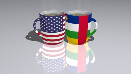 united states of america central african republic