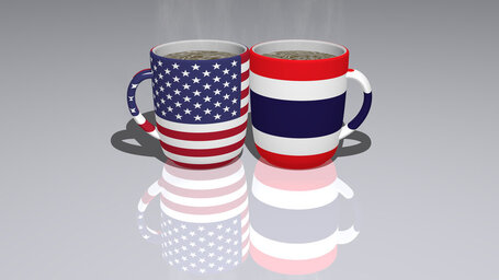 united states of america thailand