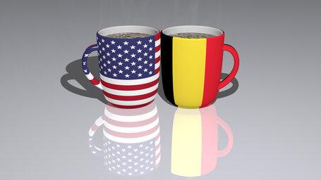 united states of america belgium