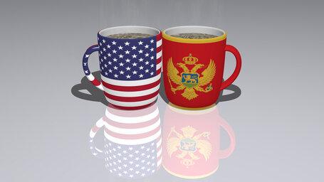 united states of america montenegro
