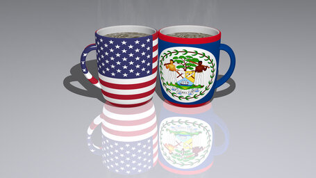 united states of america belize