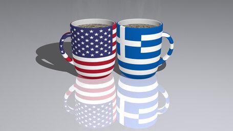 united states of america greece