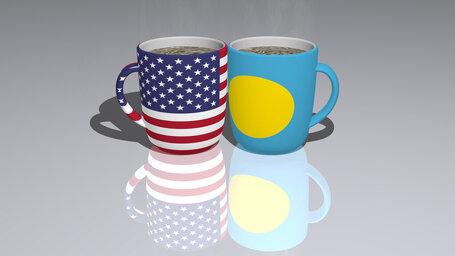 united states of america palau