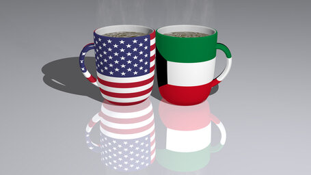united states of america kuwait