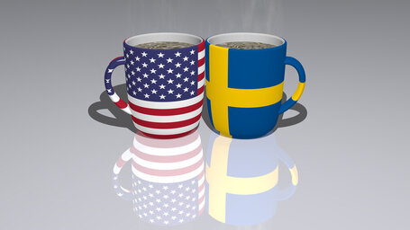 united states of america sweden