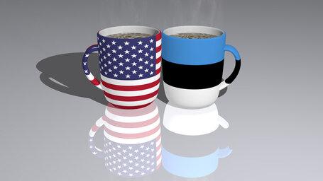 united states of america estonia