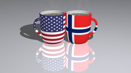 united states of america norway