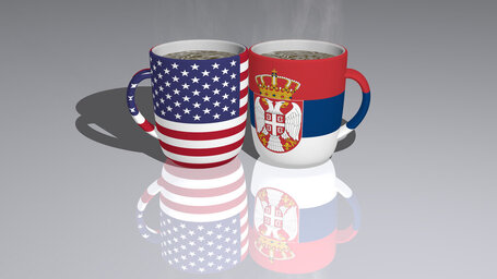 united states of america serbia