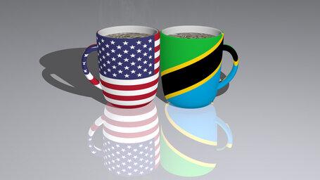 united states of america tanzania