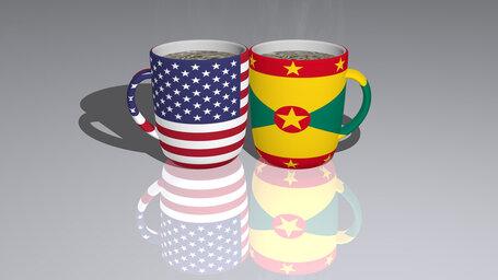 united states of america grenada