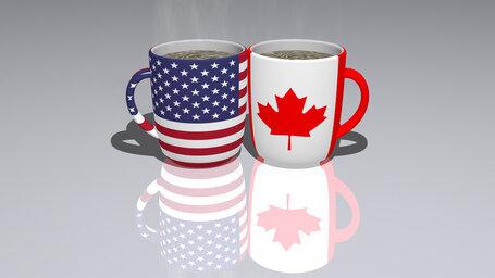 united states of america canada
