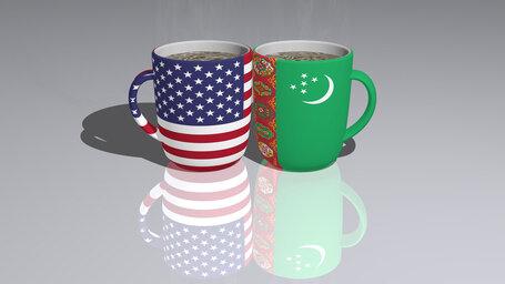 united states of america turkmenistan