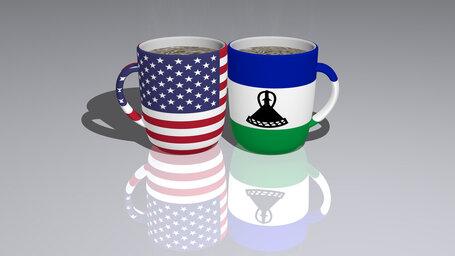 united states of america lesotho