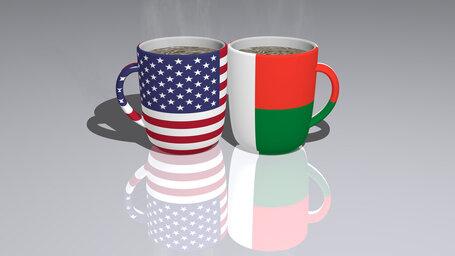 united states of america madagascar
