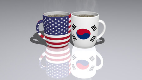 united states of america south korea