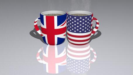 united kingdom united states of america