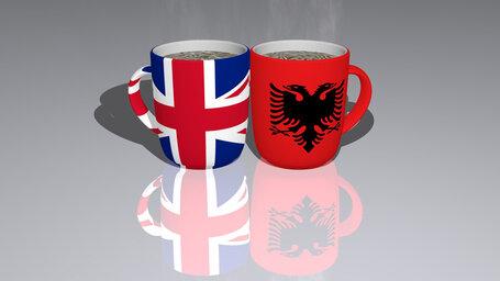 united kingdom albania