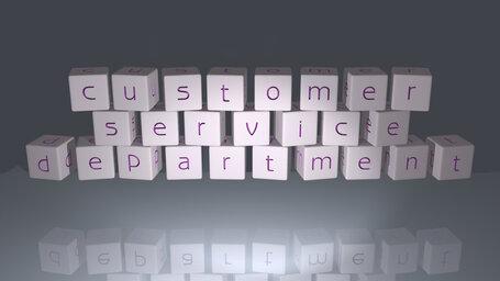 customer service department